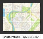 city map navigation banner ...   Shutterstock .eps vector #1396118264