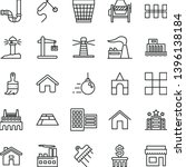 thin line vector icon set  ... | Shutterstock .eps vector #1396138184