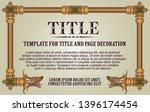 template advertisements  flyer  ...   Shutterstock .eps vector #1396174454