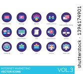 Internet Marketing Icons...