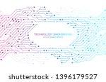 computer motherboard vector... | Shutterstock .eps vector #1396179527