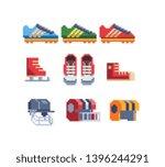 sports uniform and equipment....   Shutterstock .eps vector #1396244291
