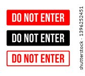 do not enter sign. no parking...   Shutterstock .eps vector #1396252451