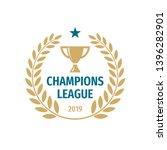 champions league badge logo... | Shutterstock .eps vector #1396282901
