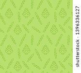 seamless pattern with artichoke ...   Shutterstock .eps vector #1396336127