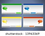 message box templates for user...