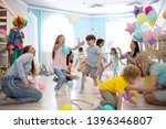 happy children and their... | Shutterstock . vector #1396346807