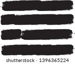 grunge paint roller . vector... | Shutterstock .eps vector #1396365224