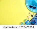 women's accessories summer... | Shutterstock . vector #1396465754