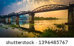 the bridge on the river kwai at ... | Shutterstock . vector #1396485767
