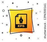 black eps file document icon.... | Shutterstock .eps vector #1396500161