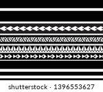 polynesian maori pattern border ... | Shutterstock .eps vector #1396553627
