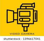 video camera icon signs symbol