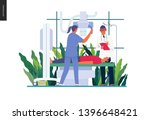 medical tests template   x ray... | Shutterstock .eps vector #1396648421