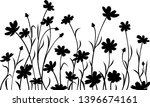 abstract meadow flowers  border....   Shutterstock .eps vector #1396674161