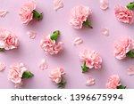 Spring Carnation Flower Pattern ...