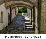 Pedestrian Underground With...