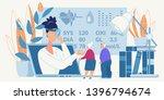 online medicine healthcare old... | Shutterstock .eps vector #1396794674