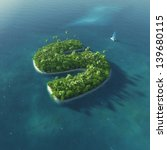 island alphabet. paradise... | Shutterstock . vector #139680115