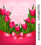 holiday background with bouquet ...   Shutterstock .eps vector #139680994