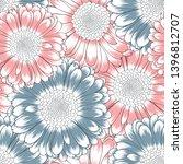 seamless beautiful  pattern... | Shutterstock .eps vector #1396812707