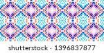 tibetan fabric. abstract ikat... | Shutterstock . vector #1396837877