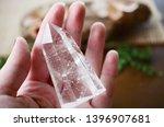 beautiful clear quartz tower ... | Shutterstock . vector #1396907681