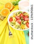 Useful Fruit Salad Of Fresh...
