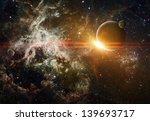 Background With Stars  Nebula...