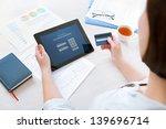 successful businesswoman... | Shutterstock . vector #139696714