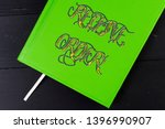 conceptual hand writing showing ... | Shutterstock . vector #1396990907