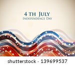 4th of july  american... | Shutterstock .eps vector #139699537