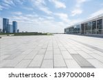 panoramic skyline with empty... | Shutterstock . vector #1397000084