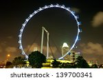 Singapore Flyer At Night   The...