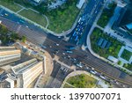 elevated view of china road... | Shutterstock . vector #1397007071