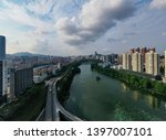 an overpass photographed by a... | Shutterstock . vector #1397007101