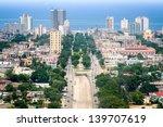 havana downtown  pictured from... | Shutterstock . vector #139707619