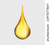 oil drop isolated on...   Shutterstock .eps vector #1397077847