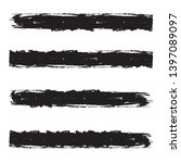 grunge paint roller . vector... | Shutterstock .eps vector #1397089097