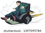 stock illustration. frightened...   Shutterstock .eps vector #1397095784