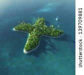 island alphabet. paradise... | Shutterstock . vector #139709881
