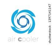 vector logo air cooler  air...   Shutterstock .eps vector #1397141147