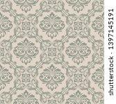 retro wallpaper  modern stylish ... | Shutterstock .eps vector #1397145191