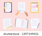 office checks forms  priority... | Shutterstock .eps vector #1397149421