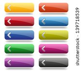 Colorful Long Rounded Buttons