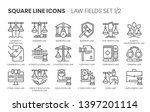 law fields related related ...   Shutterstock .eps vector #1397201114