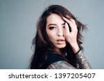 the best skincare products that ... | Shutterstock . vector #1397205407