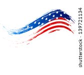 4th of july  american... | Shutterstock .eps vector #139721134