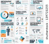 big set of infographic elements ... | Shutterstock .eps vector #139723255