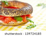 Smoked Salmon Sandwich With...